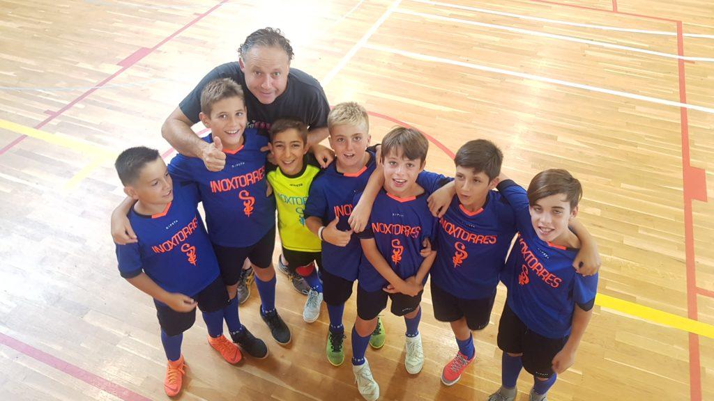 equipo de Fútbol Infantil 1